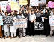 لاہور: ایل پی جی ڈسٹری بیوٹرز ایسوسی ایشن کے زیر اہتمام اپنے مطالبات ..
