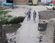 راولپنڈی: پیر ودھائی اور خیابان سر سید کو ملانے والے نالہ لئی کی پلی ..