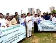 اسلام آباد: فیڈرل ایسوسی ایشن آف گورنمنٹ انجینئرز کے زیر اہتمام پریس ..
