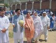 پشاور: ڈارئریکٹر سپورٹس محمد نواز قبائلی اضلاع سپورٹس فیسٹیول میں ..