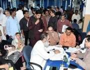 لاہور:لاہور ڈویلپمنٹ اتھارٹی کے ڈائریکٹر جنرل محمد عثمان معظم کھلی ..