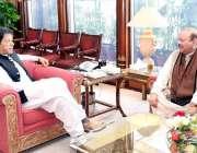 اسلام آباد: وزیر اعظم عمران خان سے سابق وزیر اعظم آزاد کشمیر بیرسٹر ..
