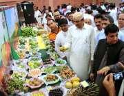حیدر آباد: صوبائی وزیر زراعت محمد اسماعیل راہو ایکسپو سنٹر میں منعقدہ ..