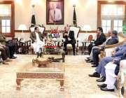 لاہور: وزیراعلی پنجاب سردار عثمان بزدار سے مانچسٹرسٹی کے لارڈ میئر ..