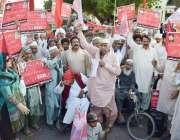 لاہور: اولڈ ایج ورکرز ویلفیئر ایسوسی ایشن کے زیر اہتمام یوم مئی کے حوالے ..