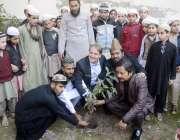 """لاہور: جامعہ مسجد کبریٰ میں """"کلین اینڈ گریم پنجاب"""" مہم کے سلسلہ میں .."""