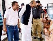 اٹک: صوبائی پارلیمانی سیکرٹری برائے جیل خانہ جات پنجاب راجہ صغیر احمد ..