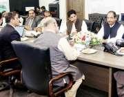 لاہور: وزیر اعلیٰ پنجاب سردار عثمان بزدار کو پنجاب ڈیزاسٹر مینجمنٹ ..