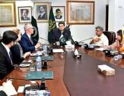 اسلام آباد: وفاقی وزیر برائے لاء اینڈ جسٹس بیرسٹر ڈاکٹر محمد فروغ نسیم ..