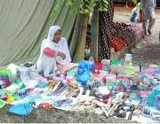 اسلام آباد: محنت کش خاتون اپنا اور اپنے خاندان کا پیٹ پالنے کے لیے گھریلو ..