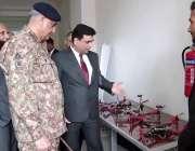 راولپنڈی: آرمی چیف جنرل قمر جاوید باجوہ نیشنل یونیورسٹی آف ٹیکنالوجی ..