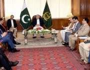 اسلام آباد : اسپیکر قومی اسمبلی اسد قیصر سے برطانیہ کا 5رکنی پارلیمانی ..