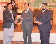 لاہور: قومی احتساب بیوروس کے چیئرمین جسٹس(ر) جاوید اقبال فیروزپور ہاؤسنگ ..