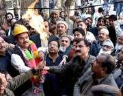 راولپنڈی: ایم این اے شیخ راشد شفیق، یوسی40بھابڑا بازار میں گیس سپلائی ..