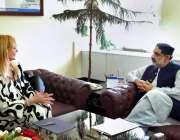 اسلام آباد: وفاقی وزیر خوراک محمد محبوب سلطان سے اسلامک ریپبلک آف بلغاریا ..