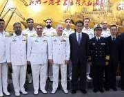 شنگھائی: چیف آف دی نیول ایڈمرل ظفر محمود عباسی کا شنگھائی دوہ کے موقع ..