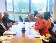 جینیوا: وفاقی وزیر برائے امور خارجہ ، مخدوم شاہ محمود قریشی نے اقوام ..