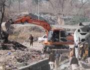 اسلام آباد: سگنل فری ایکسپریس وے لنک روڈ کا تعمیری کام جاری ہے۔