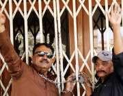 حیدر آباد: ایجوکیشن بورڈ کے اہلکار مطالبات کے حق میں احتجاج کر رہے ہیں۔