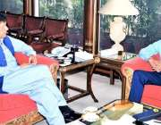 اسلام آباد: وزیر اعظم عمران خان سے چیف آف ائیر سٹاف ائیر مارشل مجاہد ..
