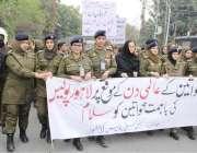 لاہور: کیپٹل سٹی پولیس لاہور کے زیر اہتمام خواتین کے عالمی دن کی مناسبت ..