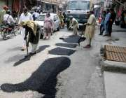راولپنڈی:محرم الحرام کی آمد کے باعث انتظامیہ کی جانب سے جلوس کے راستوں ..