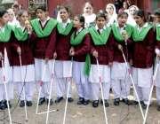 لاہور: صوبائی وزیر سکولز ایجوکیشن مراد راس پاکستان گرل گائیڈ ایسوسی ..