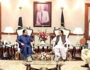 لاہور:وزیراعلی پنجاب سردار عثمان بزدار سے وزیراعلی آفس میں سپیکر پنجاب ..
