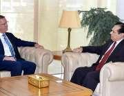 اسلام آباد: آسٹریلیائی ہائی کمشنر ڈاکٹر جیفری شاہ نے چیئرمین نیب جسٹس ..