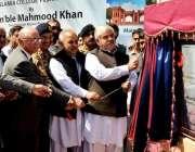 پشاور: وزیر اعلیٰ خیبر پختونخوا ر محمود خان ، ریسرچ سینٹر اسلامیہ کالج ..