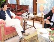 اسلام آباد: وزیر اعظم عمران خا ن سے پروفیسر ڈاکٹر عطاء الرحمن ملاقات ..