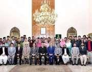 اسلام آباد: صدر مملکت ڈاکٹر عارف علوی کا یونیورسٹی آف بلتستان سکردو ..