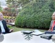 اسلام آباد: صدر ڈاکٹر عارف علوی ایم این اے آفتاب ایچ صدیقی سے گفتگو ..