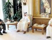 دوحہ: وفاقی وزیر توانائی ، عمر ایوب خان نے ایچ ای ای شیخ عبداللہ بن ناصر ..