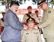 ایبٹ آباد: جنرل قمر جاوید باجوہ ، آرمی میڈیکل سنٹر (اے ایم سی) کے دورے ..