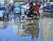 حیدر آباد: کوہ نور چوک میں سیوریج کے پانی کے باعث شہریوں کو مشکلات کا ..