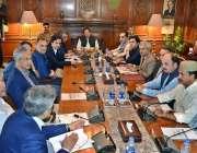 کراچی: گورنر ہاؤس میں سندھ انفراسٹرکچر ڈویلپمنٹ کمپنی کے منصوبوں کا ..