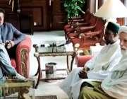 اسلام آباد: وزیر اعظم عمران خان سے ممتاز عالم شیخ محمد الجیلانی اور ..