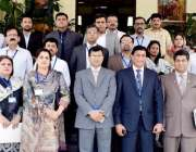 مظفر آباد: سیکرٹری آزاد جموں و کشمیر لبریشن سیل منصور قادر ڈار کے ہمراہ ..
