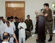 اٹک: ڈی پی او سید شہزاد ندیم بخاری ٹی ایم اے حسن ابدال میں لگائی گئی ..
