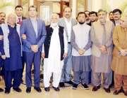لاہور: صوبائی وزیر اطلاعات و ثقافت صمصام علی بخاری کا اے پی این ایس ..