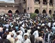 لاہور: ہائیکورٹ میں قائد حزب اختلاف پنجاب اسمبلی حمزہ شہباز کی عبوری ..