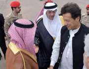 مدینہ منورہ: وزیر اعظم عمران خان کا سعودی عرب کے تین روزہ دورے پر مدینہ ..