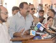 لاہور: پیپلز پارٹی پنجاب کے پارلیمانی لیڈر سید حسن مرتضیٰ پنجاب اسمبلی ..