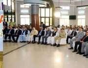 راولپنڈی: صدر مملکت ڈاکٹر عارف علوی الشفاع ٹرسٹ آئی ہسپتال میں آئی ..