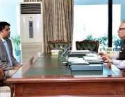 اسلام آباد: صدر مملکت ڈاکٹر عارف علوی سے وزیر برائے ہائر ایجوکیشن راجہ ..