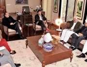اسلام آباد: وزیر اعظم عمران خان سے پی ٹی آئی ہزارہ ڈویژن کے ایم این اے ..