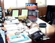 مظفر آباد: وزیر اعظم آزاد کشمیر راجہ محمد فاروق حیدر خان سے انسپکٹر ..