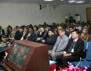 لاہور: صوبائی وز یر ہائر ایجوکیشن راجہ یاسر ہمایوں سرفراز پلائیڈ میتھیمیٹکس ..
