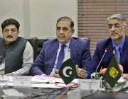 راولپنڈی: راولپنڈی چیمبر آف کامرس کے صدر ملک شاہد سلیم میڈیا سے گفتگو ..